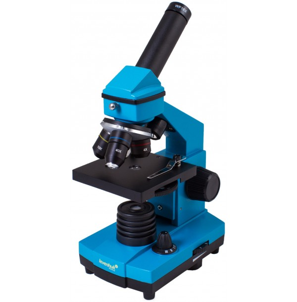 Микроскоп Levenhuk Rainbow 2L PLUS Azure\Лазурь. 69043