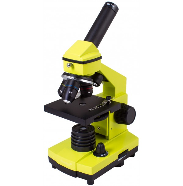 Микроскоп Levenhuk Rainbow 2L PLUS Lime\Лайм. 69044