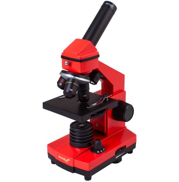 Микроскоп Levenhuk Rainbow 2L PLUS Orange\Апельсин. 69045