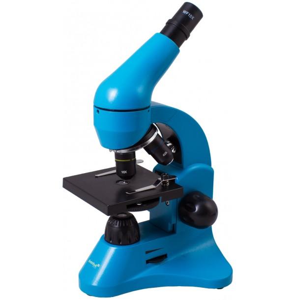 Микроскоп Levenhuk Rainbow 50L Azure\Лазурь. 69048