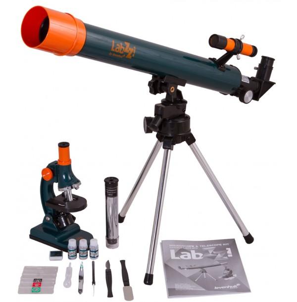Набор Levenhuk LabZZ MT2: микроскоп и телескоп. 69299