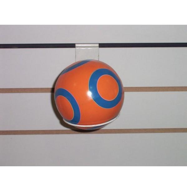 Мяч 44127/с-100ЛП с кругами (полоса) 125мм