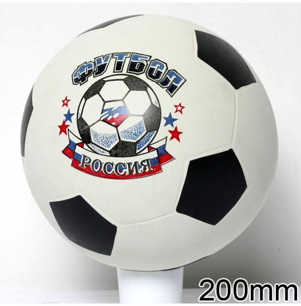 Мяч 44112/с-56ПЭ футбольный с эмблемой 200мм