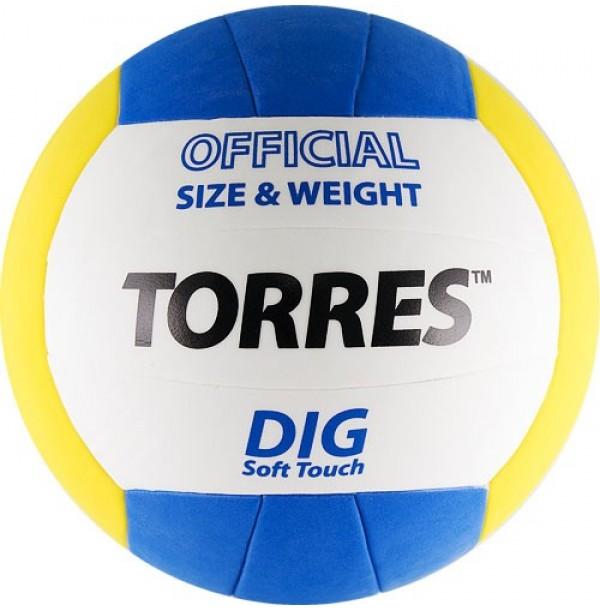 Волейбольный мяч TORRES Dig. V20145