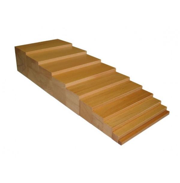 Коричневая лестница (неокрашенная). 2.02.1