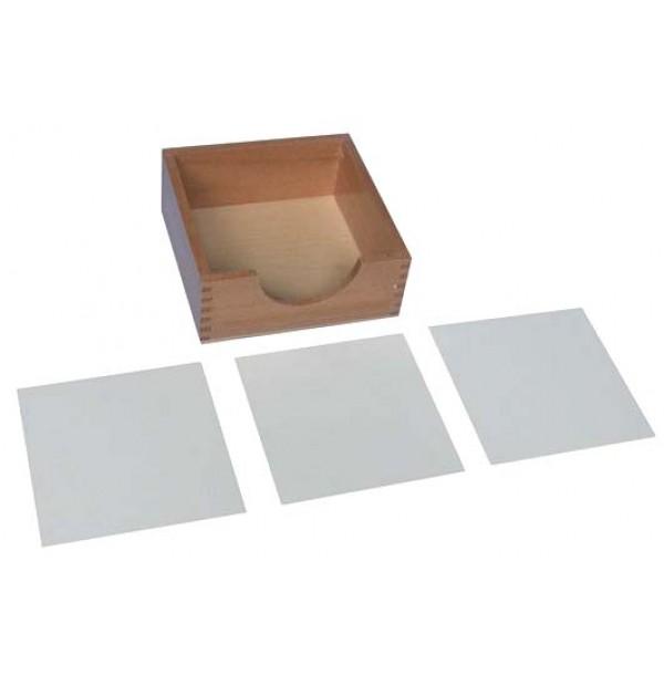 Ящик для бумаги 14х14 см. 3.03