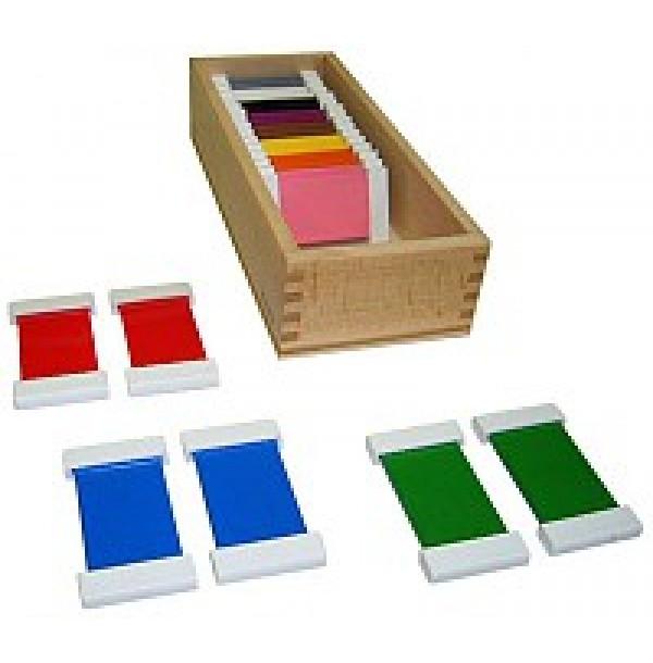 Цветные таблички – ящик №2. 2.07