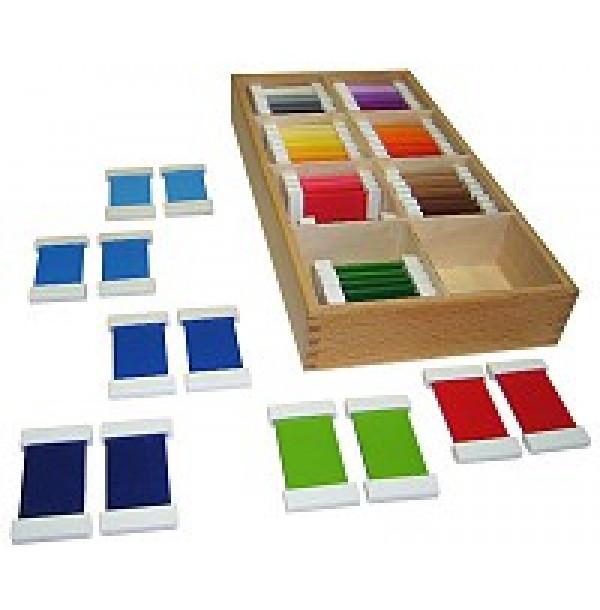 Цветные таблички – ящик №4. 2.09