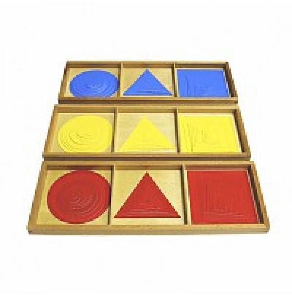 Круги, квадраты, треугольники (накладные фигуры).2.18.1
