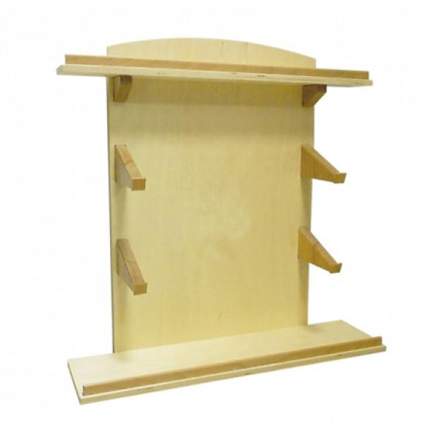 Полка для металлических рамок-вкладышей, подставок для цветных карандашей, подставки для 3-х карандашей, ящика для бумаги. 3.01.2