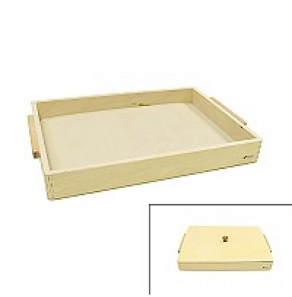 Поднос с крышкой для письма на песке (1 кг песка в комплекте).  3.08