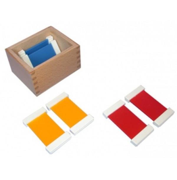 Цветные таблички – ящик №1. 2.06
