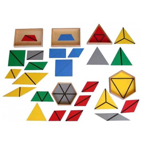 Конструктивные треугольники. 5 ящиков. 2.17