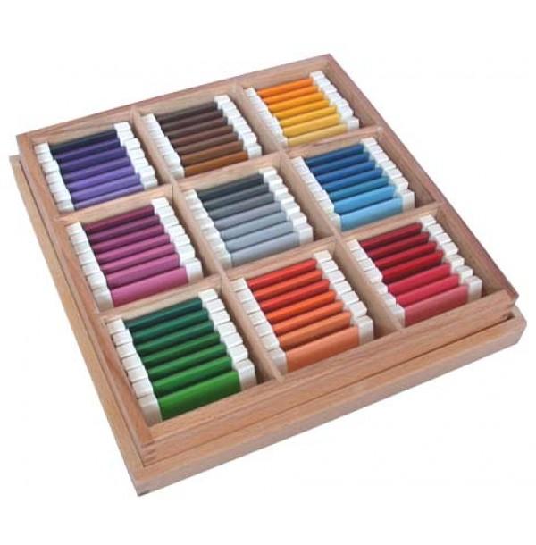 Цветные таблички – ящик №3. 2.08