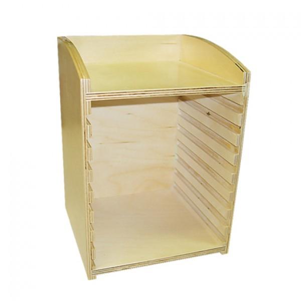 Шкафчик для анатомических рамок-вкладышей. 5.03