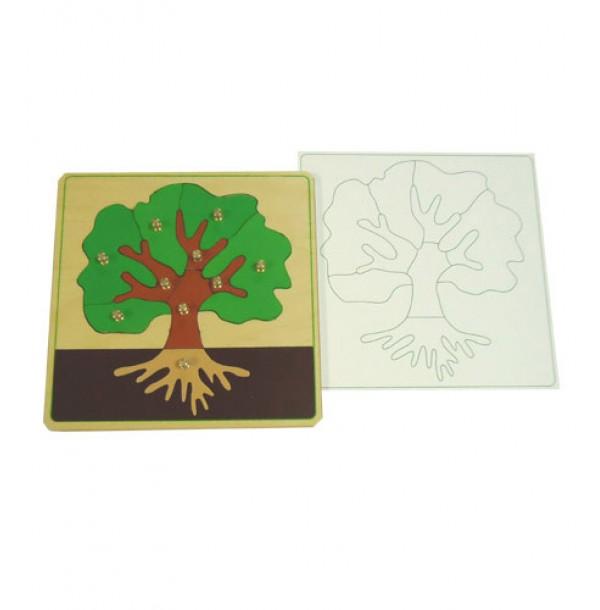 Части дерева с контуром. 5.02.2