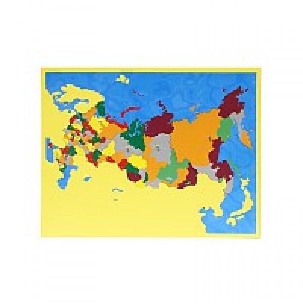 Карта субъектов Российской Федерации. 6.02