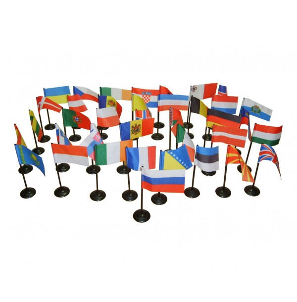 Флаги стран Европы. 6.03.2