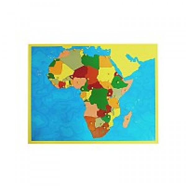 Карта Африки (пазлы). 6.07