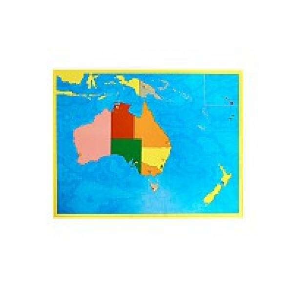 Карта Австралии (пазлы). 6.08