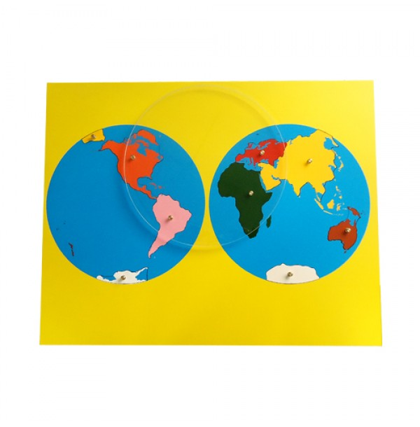 Карта континентов. 6.01