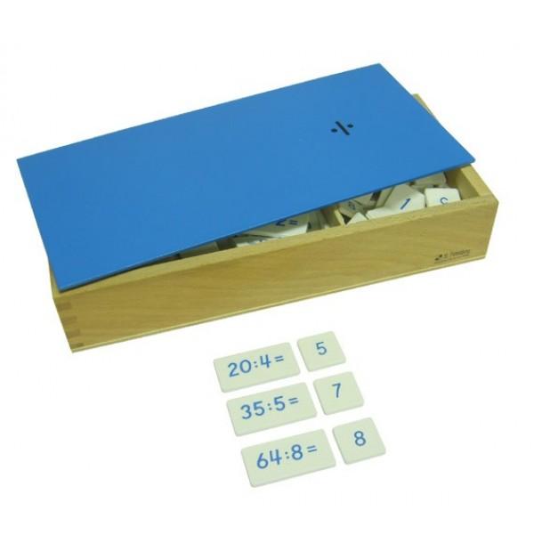Ящик с примерами на деление. 4.31