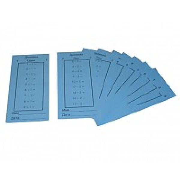 Карточки с примерами на деление. 4.32