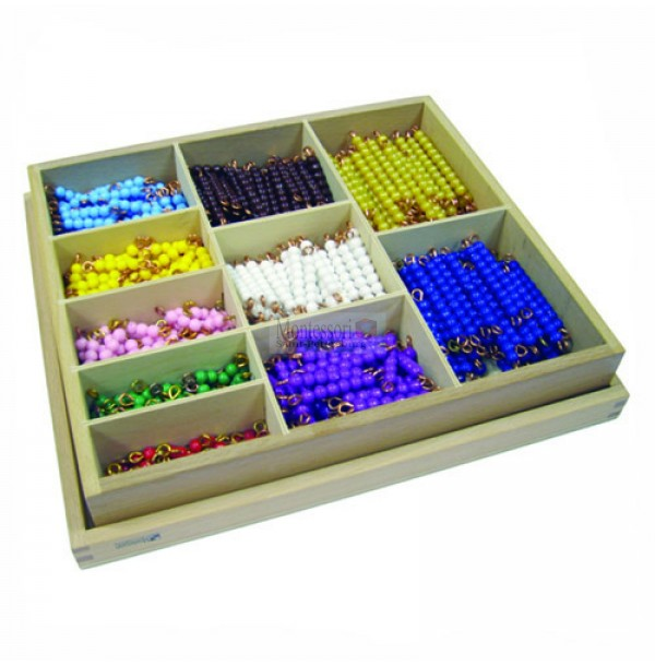 Ящик со стержнями для умножения. 4.37