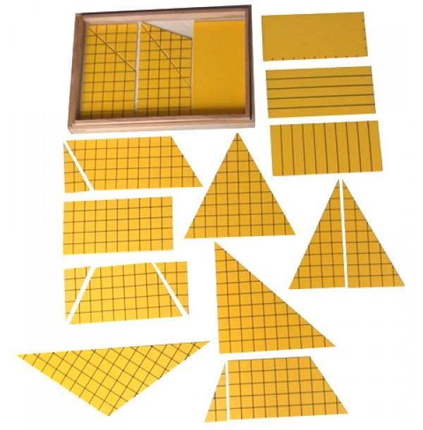Треугольники для построения площадей. 4.50