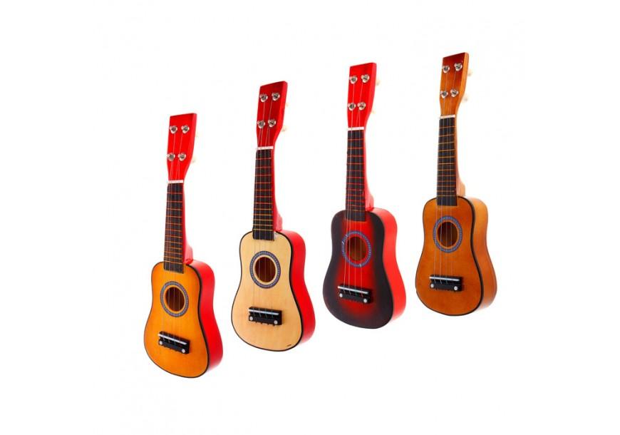 Гитары, губные гармошки, дудочки