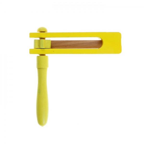 Трещетка, цвет желтый 854761