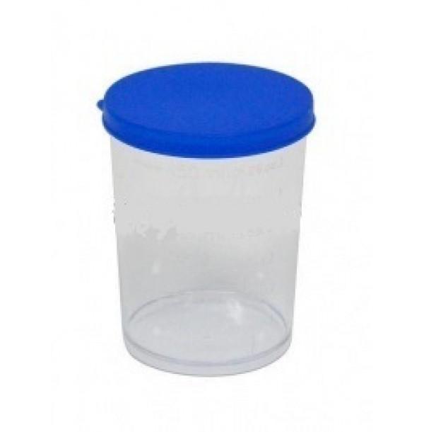 MAX KA7604B Мерный стаканчик с цветной крышкой,150 мл