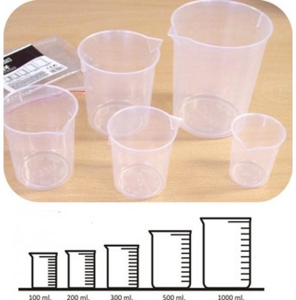 MIN 95213 Набор мерных стаканчиков (5шт)