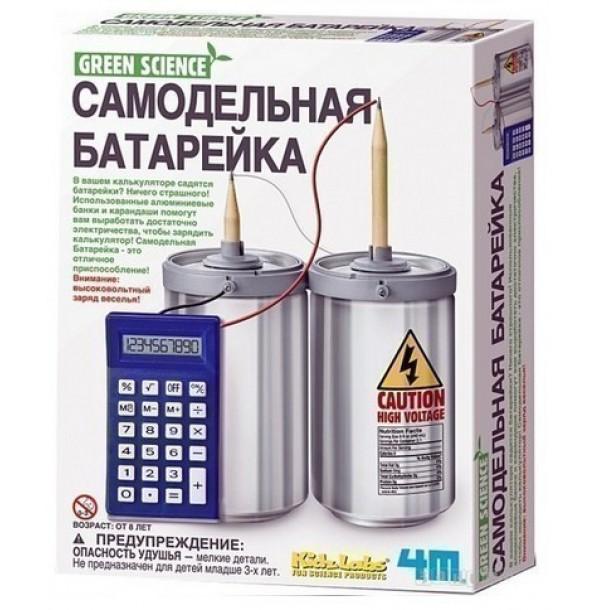 4M 00-03360 Самодельная батарейка