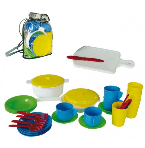 Детский кухонный набор в рюкзаке У523