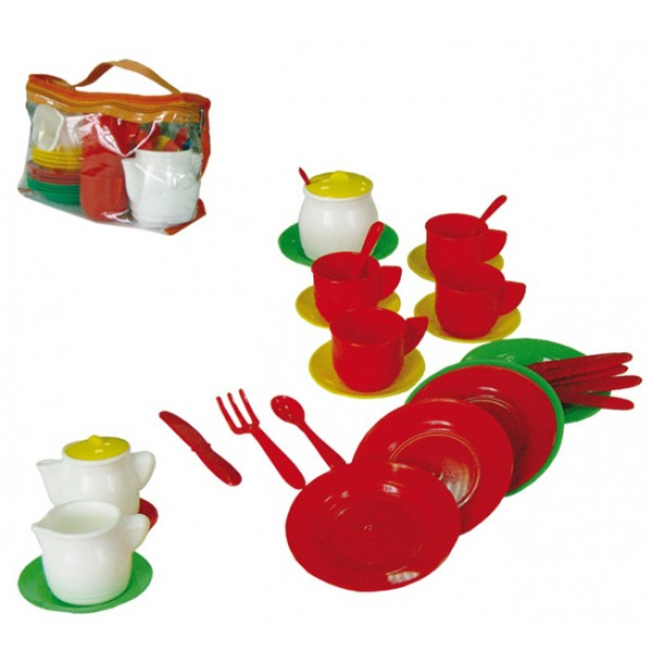 """Детский кухонный набор""""Чайный"""" У524 20шт"""