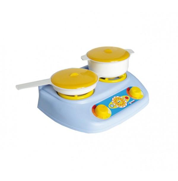 """Детский кухонный набор """"Плита газовая """" У528 12шт"""