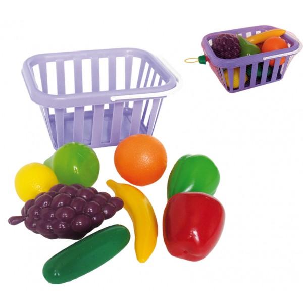 """Игр.набор """"Фрукты и овощи"""" в корзине У758"""