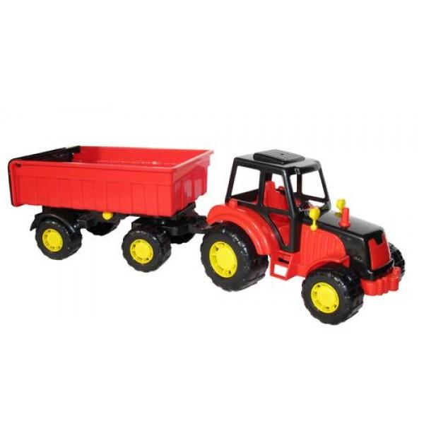 "Трактор ""Мастер"" с прицепом №1. 35257"
