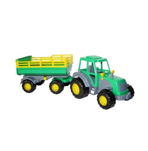 "Трактор ""Мастер"" с прицепом №2. 35271"