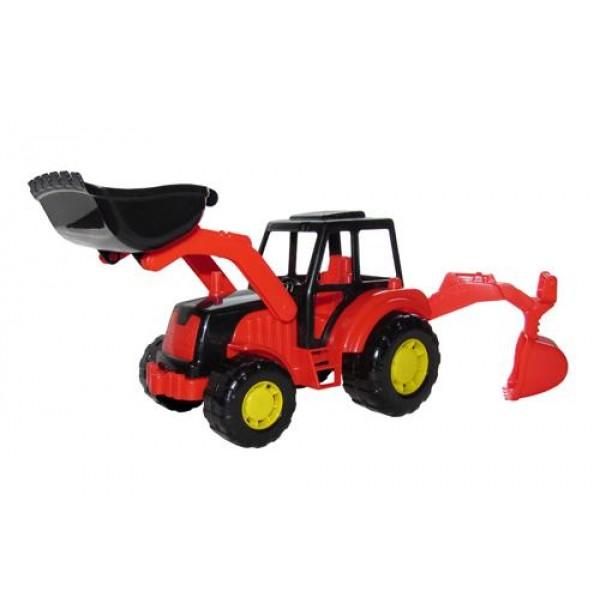"Трактор-экскаватор ""Мастер"". 35318"