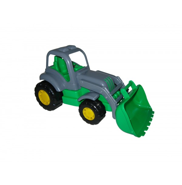 Крепыш, трактор-погрузчик. 44549