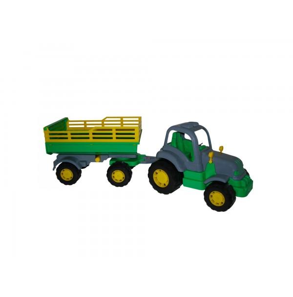 Крепыш, трактор с прицепом №2. 44563