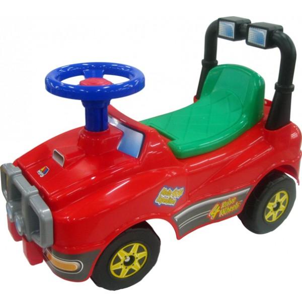 Автомобиль Джип-каталка (со звуковым сигналом). 3910