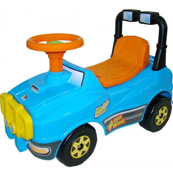 Автомобиль Джип-каталка - №2 (без звукового сигнала). 62871