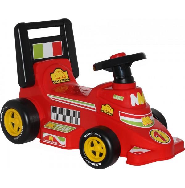 """Каталка-автомобиль гоночный """"Трек"""" (со звуковым сигналом). 7987"""