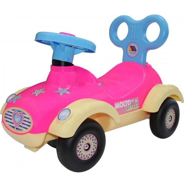 """Каталка-автомобиль для девочек """"Сабрина"""" №2 (без звукового сигнала). 9219"""