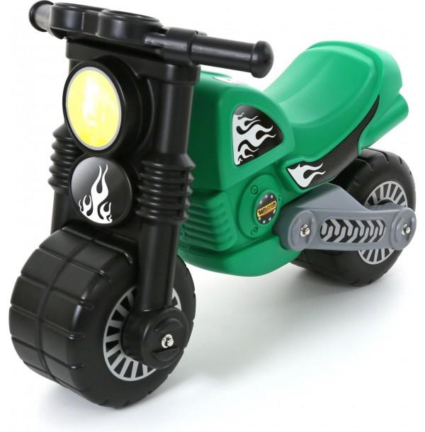 """Мотоцикл """"Моторбайк """" зелёный. 40480"""