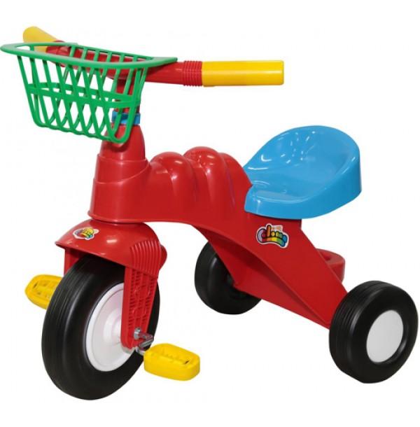 """Велосипед 3-х колёсный """"Малыш"""" с корзинкой. 46192"""