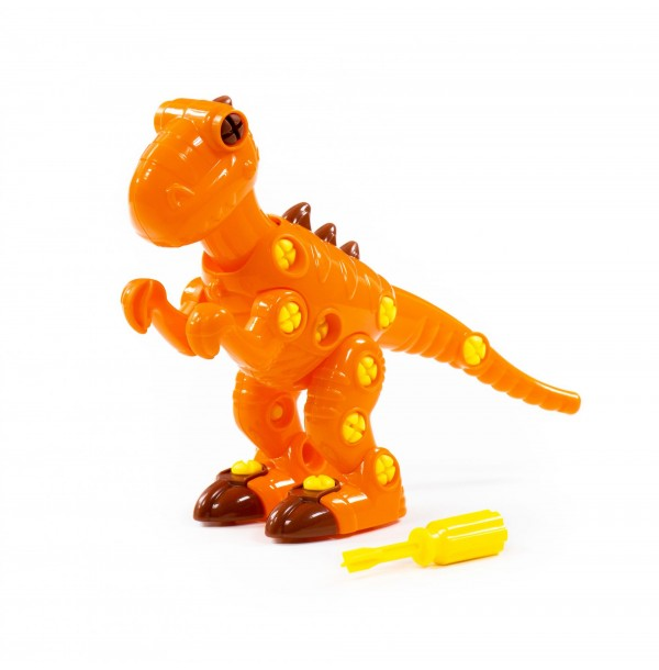 """Конструктор-динозавр """"Тираннозавр"""" (40 элементов) (в пакете). 76700"""